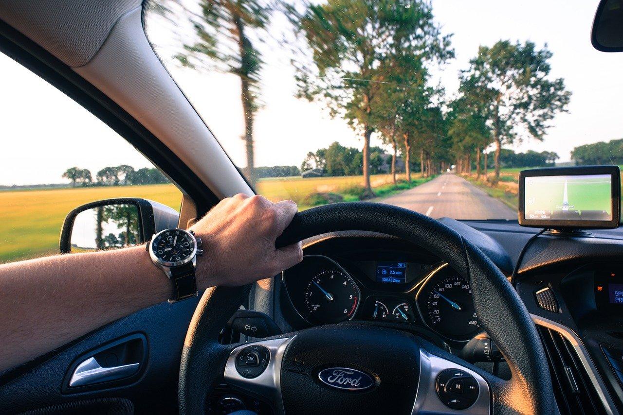 driving, car, navigation